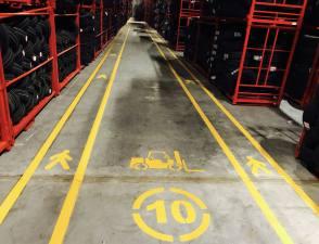 Yol Ve Fabrika Çizgileri